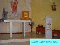 Stôl a kazateľňa 1